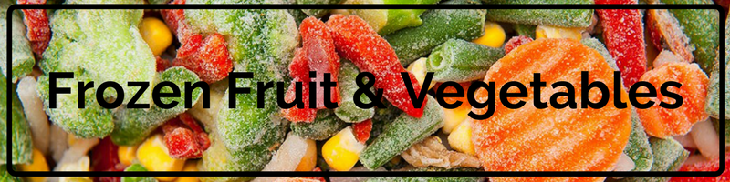 Frozen Fruit & Vegetables