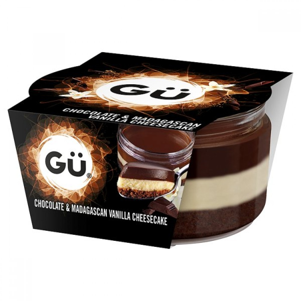 m3 distribution services gu chocolate and madagascan vanilla cheesecake 78g m3 distribution. Black Bedroom Furniture Sets. Home Design Ideas