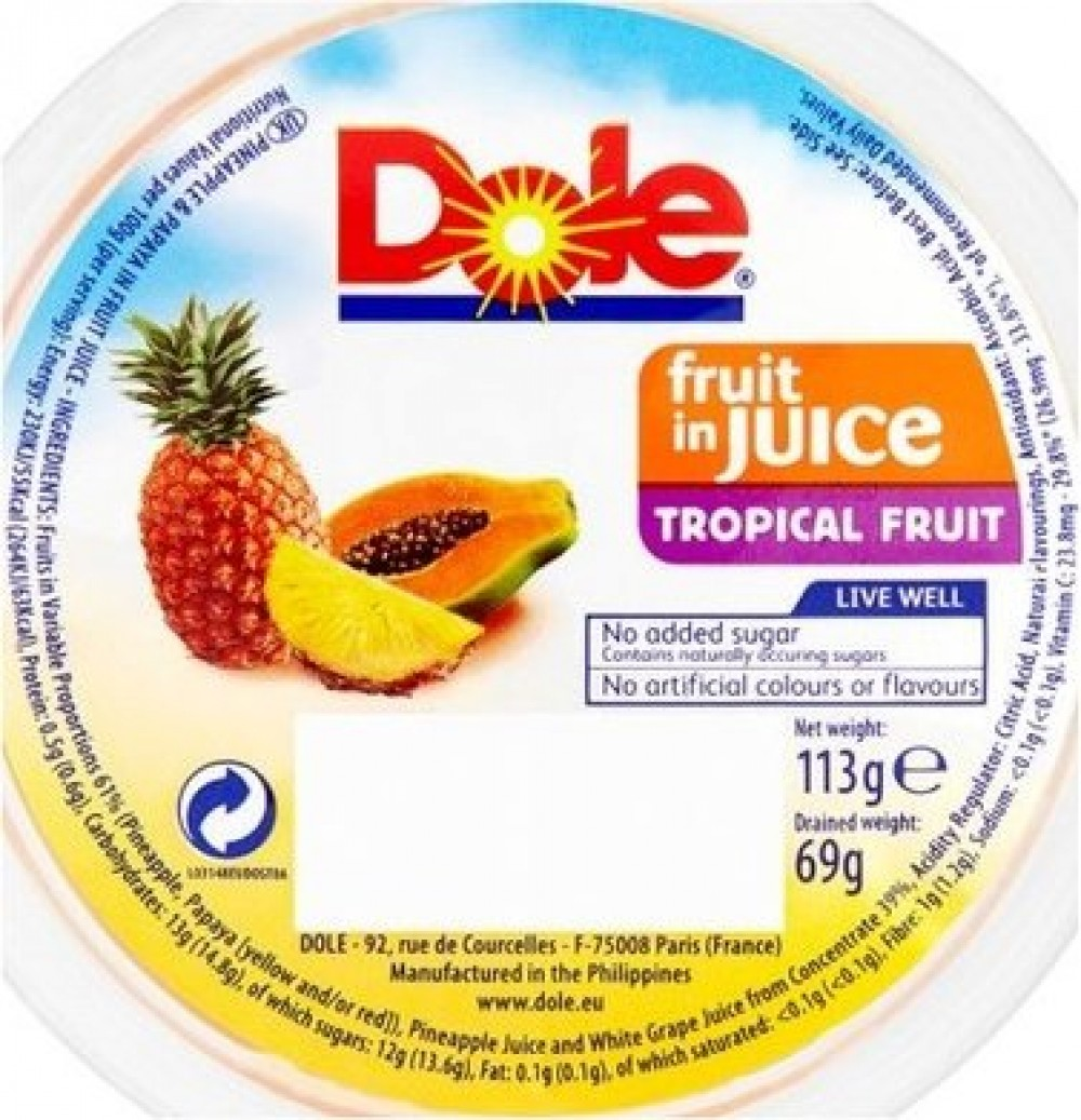 M3 Distribution Services Irish Food Wholesaler Dole Tropical Fruit