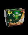 M3 Distribution Services Irish Food Wholesaler Danone Activia Walnut & Oats (6x4x120g)