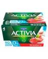 M3 Distribution Services Irish Food Wholesaler Danone Activia 0% Strawberry (6x4x125g)