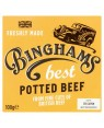 M3 Distribution Services Binghams Best Potted Beef 100g