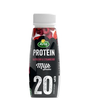 M3 Distribution Services Irish Food Wholesaler Arla Protein Raspberry & Strawberry Milkshake (8x225ml)