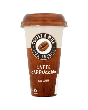 M3 Distribution Services Irish Food Wholesale Latte Cappuccino Iced Coffee 250ml