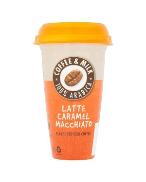 M3 Distribution Services Irish Food Wholesale Latte Caramel Macchiato Iced Coffee 250ml