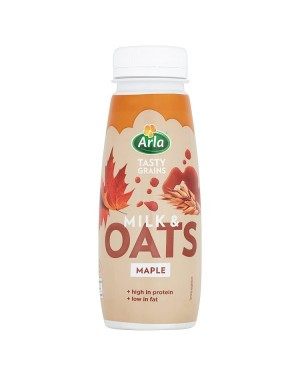M3 Distribution Services Irish Food Wholesaler Arla Maple Milk And Oats (8x250ml)