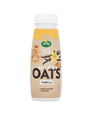 M3 Distribution Services Irish Food Wholesaler Arla Vanilla Milk & Oats (8x250ml)
