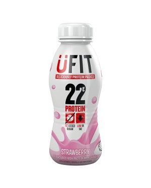 M3 Distribution Services UFIT Strawberry High Protein Milkshake 310ml