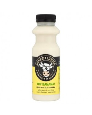 M3 Distribution Services Irish Food Wholesale Shaken Udder Top Banana Milkshake 330ML