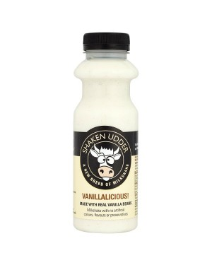 M3 Distribution Services Irish Food Wholesale Shaken Udder Vanillalicious Milkshake 330ML