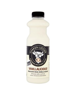 M3 Distribution Services Irish Food Wholesaler Shaken Udder Vanillalicious Milkshake (6x750ml)