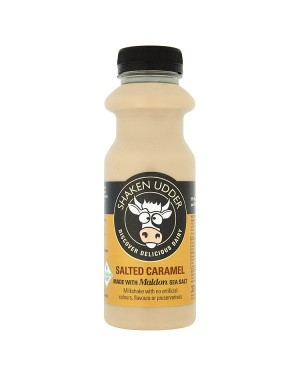 M3 Distribution Services Irish Food Wholesaler Shaken Udder Salted Caramel Milkshake (6x330ml)