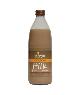 M3 Distribution Services Delamere Chocolate Flavoured Milk 500ml
