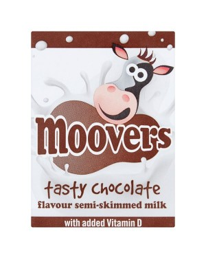 M3 Distribution Services Irish Food Wholesaler Moovers Chocolate Flavoured Milk (12x200ml)