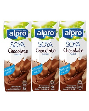 M3 Distribution Services Irish Food Wholesaler Alpro Longlife Soya Chocolate (5x3x250ml)