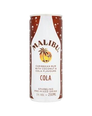 M3 Distribution Frozen Wholesale Malibu & Cola 250ml