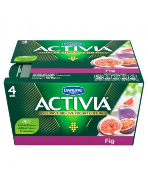 M3 Distribution Services Irish Food Wholesaler Danone Activia Fig (6x4x125g)