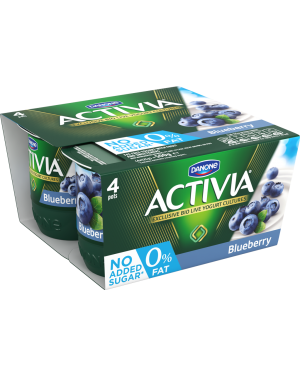 M3 Distribution Danone Activia 0% No Added Sugar Blueberry