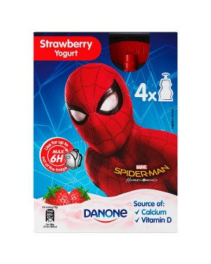 M3 Distribution Services Irish Food Wholesaler Danone Disney Spiderman Pouch (6x4x70g)