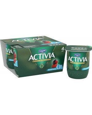 Activia Forest Fruits 4Pk (6x4X125G)