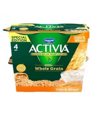 Activia Oats & Wheat 4Pk (6x4X120G)