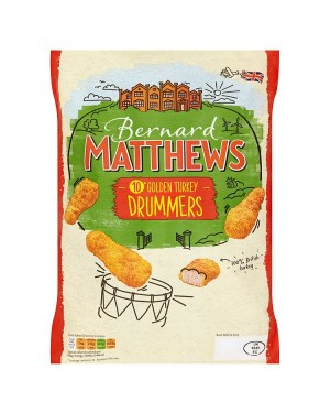 M3 Distribution Bernard Matthews 10 Golden Turkey Drummers