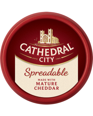 M3 Distribution Services Cathedral City Mature Spreadable Cheddar