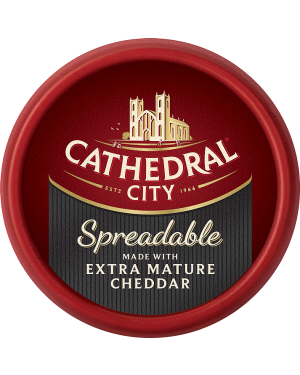 M3 Distribution Services Cathedral City Extra Mature Spreadable Cheddar