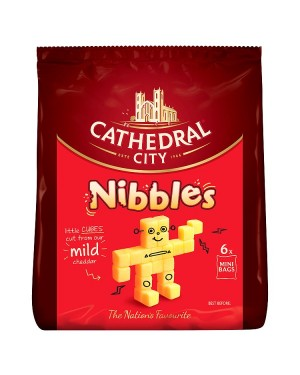 M3 Distribution Services Cathedral City 6 Mini Nibbles Bags