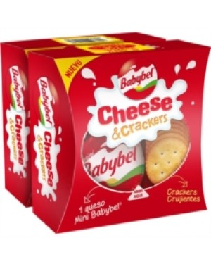 M3 Distribution Services Irish Food Wholesale Babybel Cheese & Crackers 40g