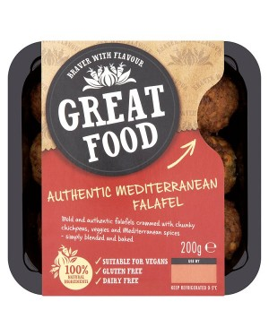M3 Distribution Services Great Food Mediterranean Falafels 200g