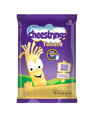M3 Distribution Services Cheesestrings Twister 8pack