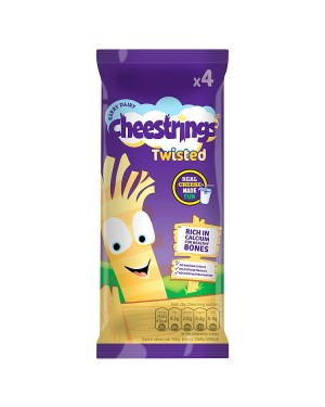 M3 Distribution Services Cheesestrings Twister 4pack
