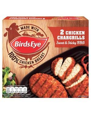M3 Distribution Birds Eye BBQ Chicken Chargrills (2pack)