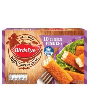 M3 Distribution Services Irish Food Wholesaler Birds Eye 10 Chicken Fingers (8x250g)
