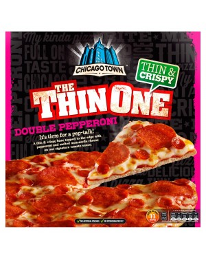 M3 Distribution Chicago Town Thin Pepperoni Pizza PMÃ'ÂÂÃ