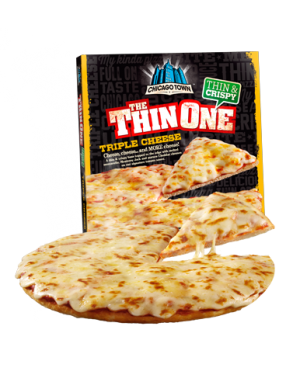 M3 Distribution Chicago Town Thin Cheese Pizza PM£2