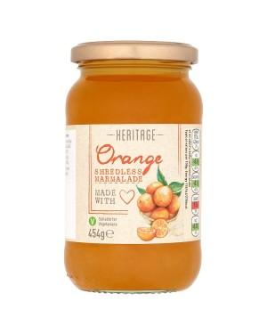 M3 Distribution Bulk Irish Wholesale Heritage Orange Shredless Marmalade 454g