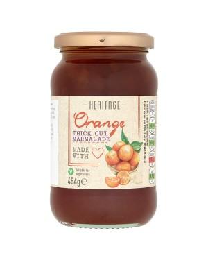 M3 Distribution Bulk Irish Wholesale Heritage Orange Thick Cut Marmalade 454g