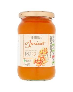 M3 Distribution Bulk Irish Wholesale Heritage Apricot Jam 454g