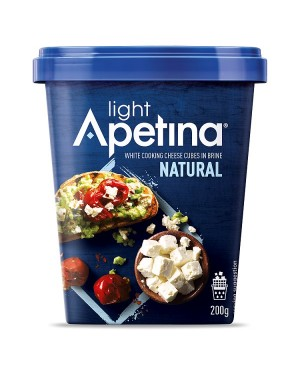 M3 Distribution Services Apetina Feta Cheese Cube Light 200g