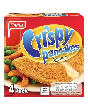 M3 Distribution Services Irish Food Wholesale Findus 4 Crispy Cheese Pancakes