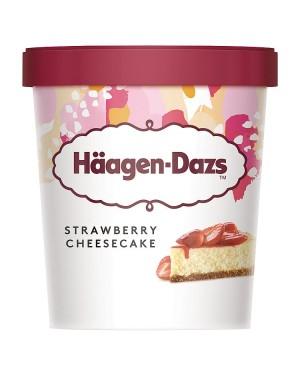 M3 Distribution Services Irish Food Wholesaler Haagen-Dazs Strawberry Cheesecake (8x460ml)