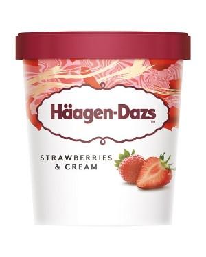 M3 Distribution Services Irish Food Wholesaler Haagen-Dazs Strawberries & Cream (8x460ml)