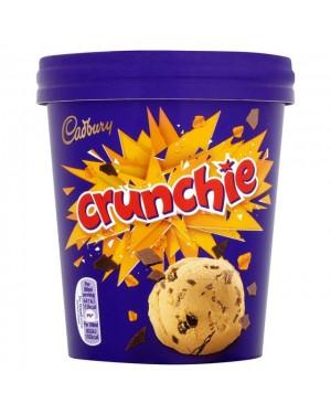 M3 Distribution Services Irish Food Wholesaler Cadbury Crunchie Tub PM£3 (6x480ml)