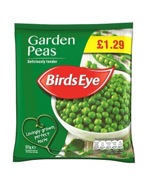 M3 Distribution Birds Eye Garden Peas 375g PMÃ'ÂÂÂ