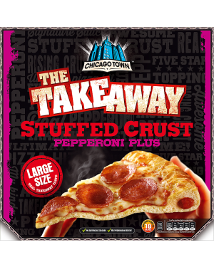 M3 Distribution Chicago Town Takeaway Stuffed Crust Pepperoni Plus - Large Pizza