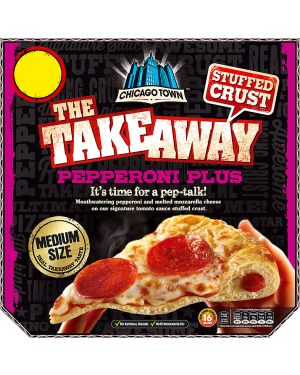 M3 Distribution Chicago Town Takeaway Stuffed Crust Pepperoni Plus - Medium Pizza PM£3
