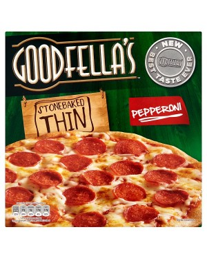 M3 Distribution Services Irish Food Wholesaler Goodfellas Thin Pepperoni Pizza (7x340g)