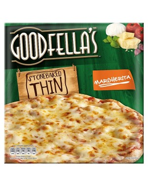 M3 Distribution Services Irish Food Wholesaler Goodfellas Thin Margherita Pizza (7x345g)